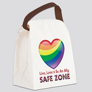 Safe Zone - Ally Canvas Lunch Bag