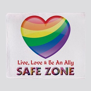 Safe Zone - Ally Throw Blanket