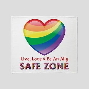 Safe Zone - Ally Throw Blanket