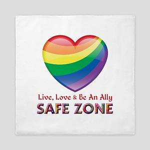 Safe Zone - Ally Queen Duvet
