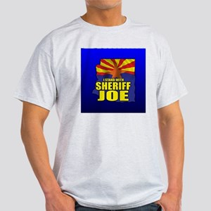 sheriff_joe_button_zz Light T-Shirt