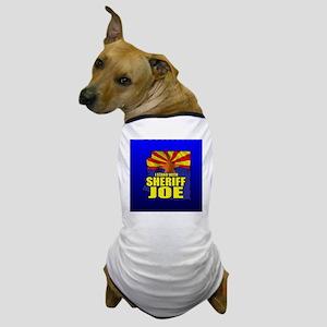 sheriff_joe_button_zz Dog T-Shirt