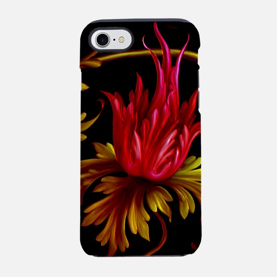 Harvest Moons Victorian Floral Swirl iPhone 7 Toug