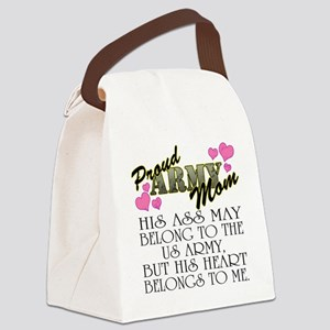 proud mom_1 Canvas Lunch Bag