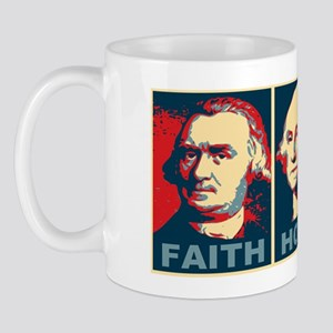 ART 14 x 6 Faith Hope Charity Mug