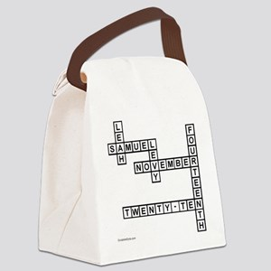 levy Canvas Lunch Bag