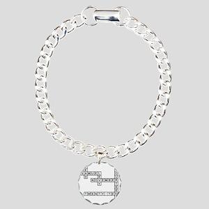 levy Charm Bracelet, One Charm