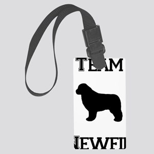 Team Newfie Large Luggage Tag