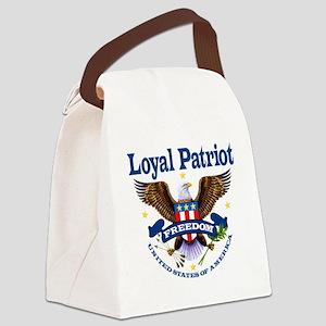 Loyal Patriot Canvas Lunch Bag