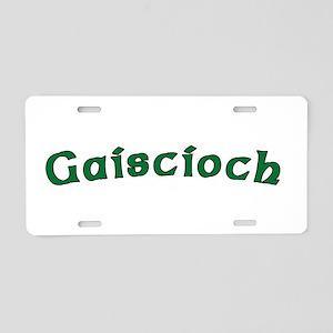 Gaiscioch Dark Shirt Aluminum License Plate