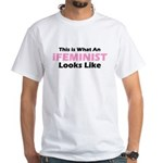 iFeminist White T-Shirt