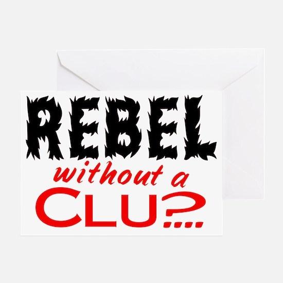 RebelClue Greeting Card