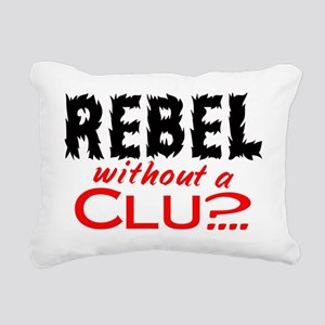 RebelClue Rectangular Canvas Pillow