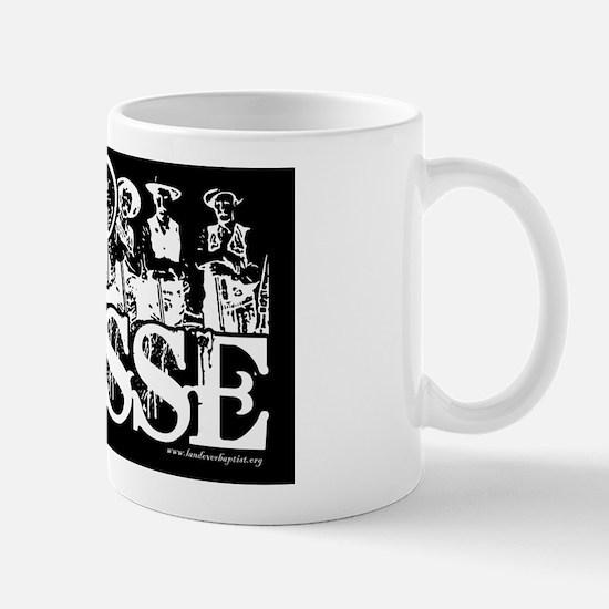 sinposseblacktemplate Mug