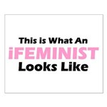 iFeminist Small Poster