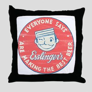 esslingersbeer Throw Pillow