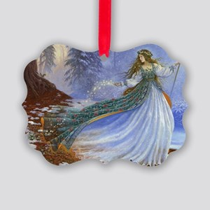 Spring Fairy Picture Ornament