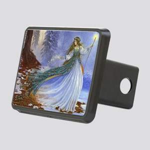 Spring Fairy Rectangular Hitch Cover