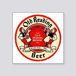 "oldreadingbeer Square Sticker 3"" x 3"""