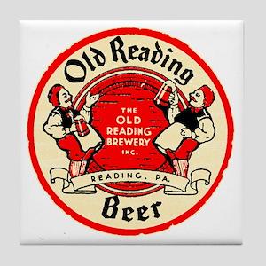oldreadingbeer Tile Coaster