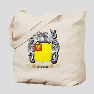 Jacoby Coat of Arms - Family Crest Tote Bag