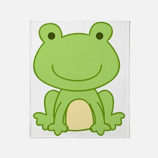 Frog Throw Blanket