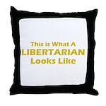 Libertarian Throw Pillow
