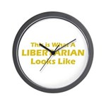 Libertarian Wall Clock