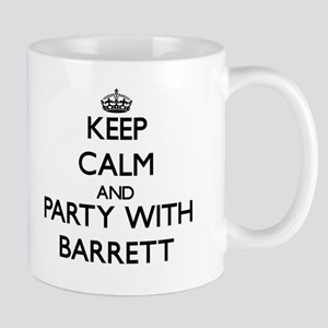 Keep Calm and Party with Barrett Mugs