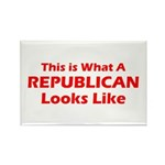 Republican Rectangle Magnet (100 pack)