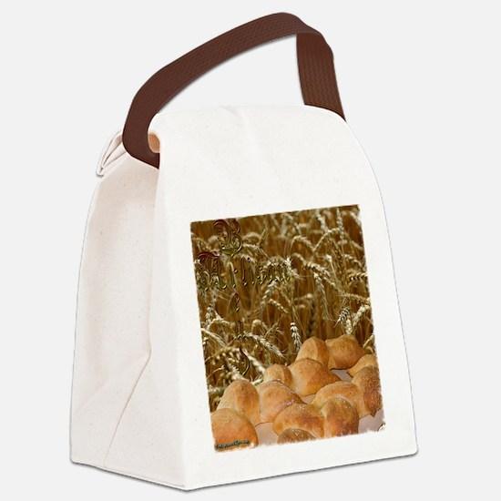 bread_apron2mrg copy Canvas Lunch Bag