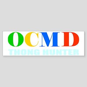 Ocean City Thong Hunter Sticker (Bumper)