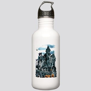 Haunted House Trans Stainless Water Bottle 1.0L