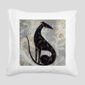 Sable Square Canvas Pillow