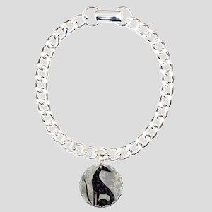 Sable Charm Bracelet, One Charm