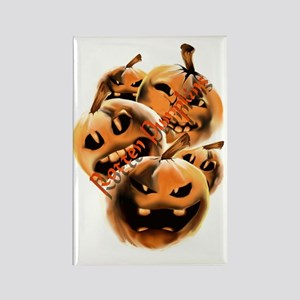 Rotten Pumpkins letteredTrans Rectangle Magnet