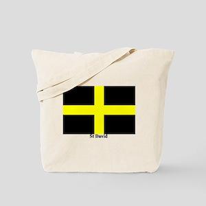 Wales St David Tote Bag
