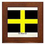Wales St David Framed Tile