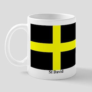 Wales St David Mug