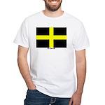 Wales St David White T-Shirt
