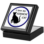 Siamese Cats Hinged Box