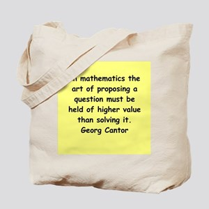 cantor3 Tote Bag