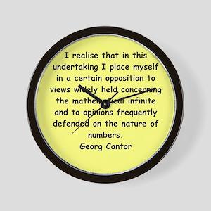 cantor4 Wall Clock