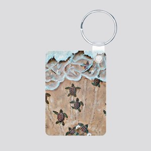 Race To The Sea  Aluminum Photo Keychain