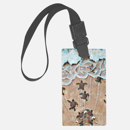 Race To The Sea  Luggage Tag