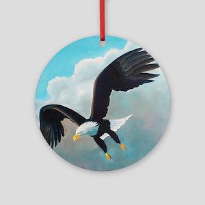 Eagle 2 Round Ornament