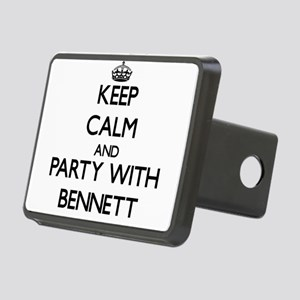 Keep Calm and Party with Bennett Hitch Cover