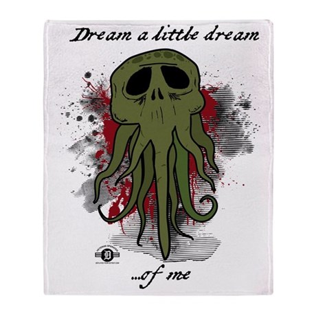 dream_a_little_dream Throw Blanket