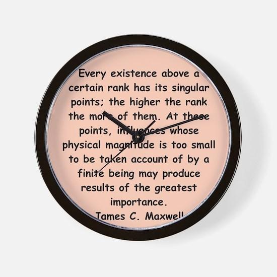 maxwell2.png Wall Clock