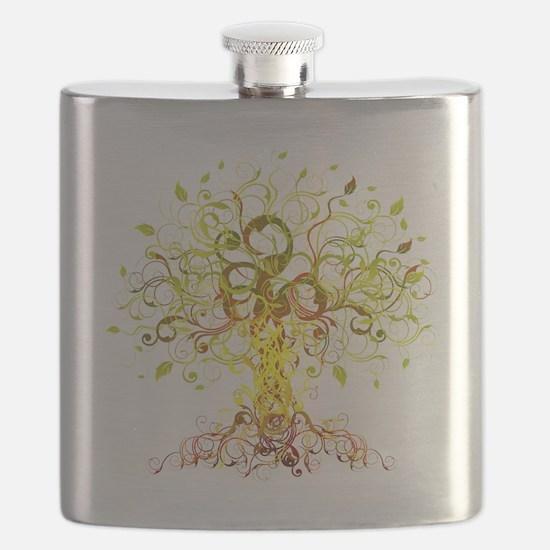 Tree Art Flask